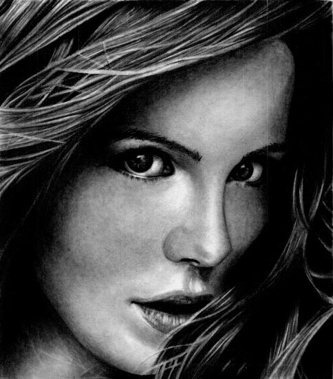 Kate Beckinsale by Pao